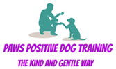 Paws Positive Dog Training Logo